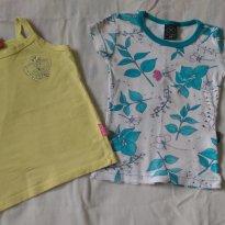 2 blusinhas marca Kyly e Hering - 2 anos - Kyly e Hering