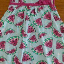Vestido Melancias Kyly Tam G - 6 a 9 meses - Kyly