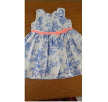Vestido de Festa Carter´s Tam 6 meses - 6 meses - Carter`s