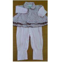 Macacão Aconchego do Bebê - Tam G - 6 a 9 meses - Aconchego do Bebê