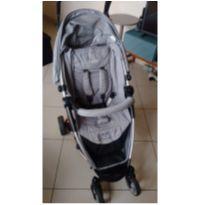 Travel System Carrinho De Bebê + Bebê Conforto Helios Grafite Kiddo -  - Kiddo