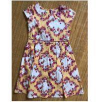 Vestido Florido Alphabeto - 6 anos - Alphabeto