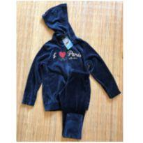 Conjunto de plush I Love Paris - 4 anos - Elian
