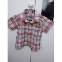 Camisa Rosa menino - 1 ano - confecções dieguinho