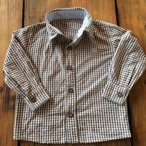Camisa Xadrez - 1 ano - Colorittá