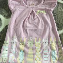 Vestido rosinha de gatinho - 3 meses - Kiko baby
