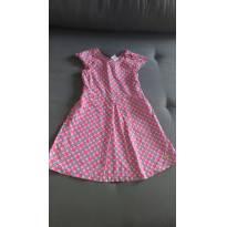 Vestido 100% algodão Barbie - 6 anos - Barbie