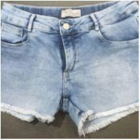 Shortinho jeans - 10 anos - Kids Denim Girls