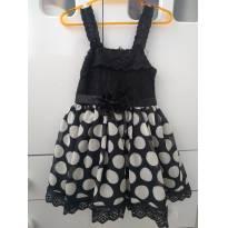 """"""" Vestido de bolinhas"""" - 1 ano - Sem marca"""