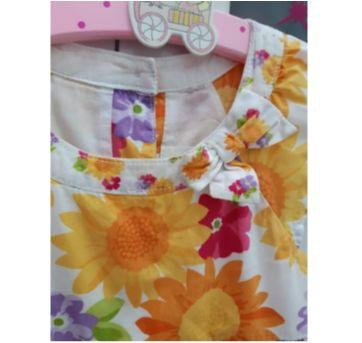 """""""Vestido Floral Verão"""" - 3 anos - Gymboree"""
