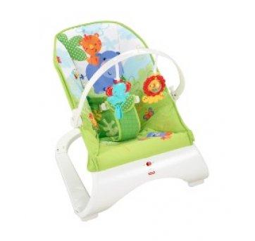 Cadeira de descanso Fischer Price Amigos da Floresta - NOVA! com caixa - Sem faixa etaria - Fisher Price