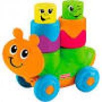 blocos divertidos fisher price veículos largarto laranja - Sem faixa etaria - Fisher Price