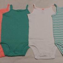 Kits bodys alcinhas - 18 meses - Carter`s