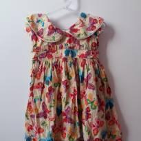 vestido borboleta - 2 anos - Não informada