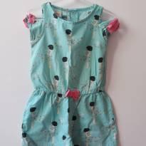 Macaquinho / macaão menina - 2 anos - Alphabeto