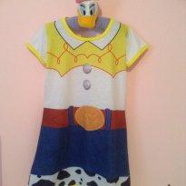 Vestido Jessie toy story - 2 anos - nao informada