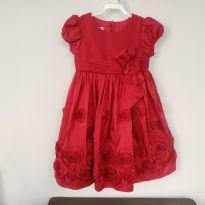 vestido vinho Bonnie Jean - 3 anos - Bonnie Jean