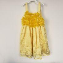 Vestido amarelo - 4 anos - Petit Cherie