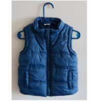 Colete Azul Navy - 12 a 18 meses - Teddy Boom