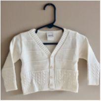 Casaquinho de tricot - 3 a 6 meses - Buá