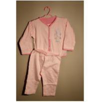 Pijama Ursinho Cor-de-rosa - 18 meses - Be Little
