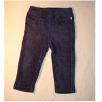 Calça legging Veludo - 6 a 9 meses - Teddy Boom