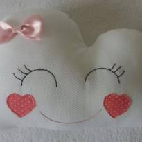 Almofada Nuvem - rosa - Sem faixa etaria - Não informada