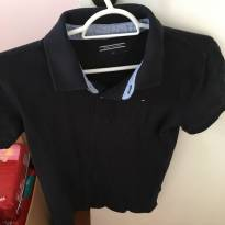 Camisa Polo Tommy Hilfiger Azul - 12 anos - Tommy Hilfiger