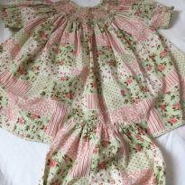 Vestido Silmara Bebe - 9 a 12 meses - Silmara