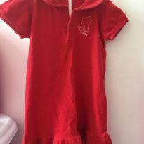 Vestido pólo vermelho - 24 a 36 meses - Tilly Baby