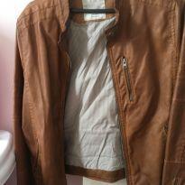 Jaqueta Zara couro sintético - 13 anos - Zara