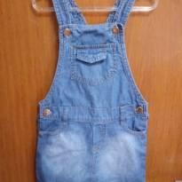 Vestido jardineira - 3 anos - Baby Club