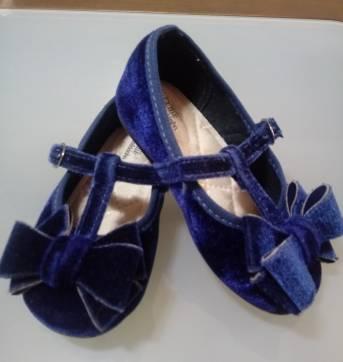 Sapato de veludo - 23 - Molekinha