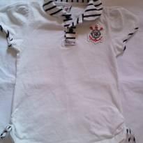 Camiseta polo Corinthians - 24 a 36 meses - Corinthians oficial