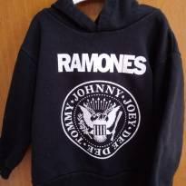 Blusa de moletom Ramones - 2 anos - Não informada