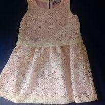 Vestido de renda - 4 anos - Caedu