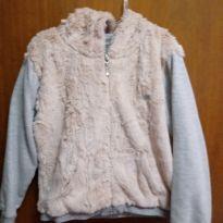 Blusa de frio com pêlo - 4 anos - CÓDIGO GIRLS