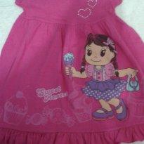 Vestido rosa - 1 ano - KAIANI