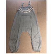 Jardineira saruel jeans tencel Poim 2 anos - 2 anos - Renner