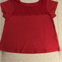 Camiseta renda First Impressions 2 anos - 2 anos - First Impressions