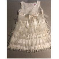 Vestido de Festa babados Beau 4 anos - 4 anos - Importada