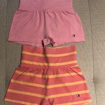 Kit shorts malha Tommy Hilfiger 12-18 meses - 12 a 18 meses - Tommy Hilfiger