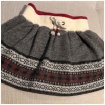 Saia lã com tapa fraldas Ralph Lauren 18 meses - 18 meses - Ralph Lauren