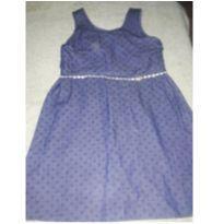 Vestido azul - 4 anos - Alenice