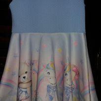 Vestido unicórnio kukiê - 3 anos - Le Petit Kukiê
