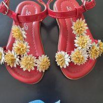 Sandália - Flor - 22 - Ludique et Badin