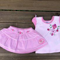 Conjunto rosa lilica ripilica MB 6-9M Ref 023 - 6 a 9 meses - Lilica Ripilica Baby
