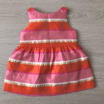 vestido Janie and jack luxo 3-6M Ref 096 - 3 a 6 meses - Janie and Jack