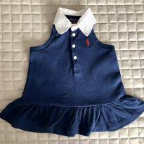 Vestido Ralph lauren gola bordada 3M Ref 105 - 3 meses - Ralph Lauren