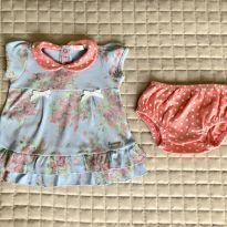 Vestido lilibee M Ref 111 - 3 a 6 meses - Lilibee